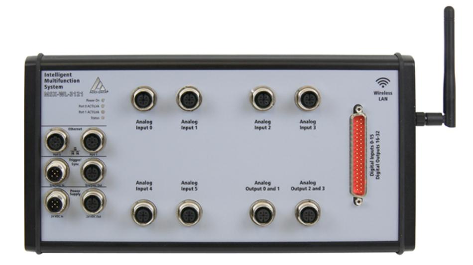Das Multifunktionssystem MSX-WL-3121-6-4 von Addi-Data kann über WLAN ausgelesen und konfiguriert werden.
