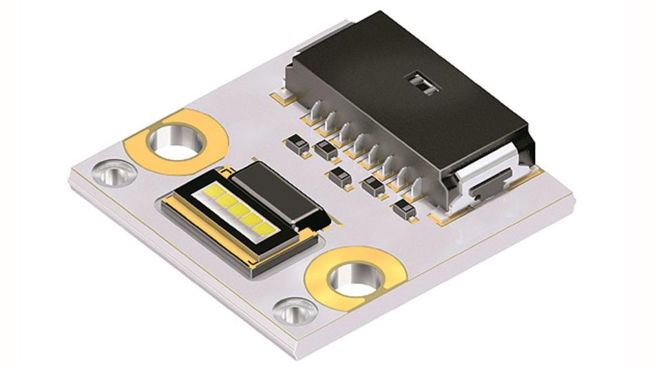 Bild 1. Die Osram Ostar Headlamp ProMono ermöglicht ADB-Funktionen (blendfreies Fernlicht) auf LED-Basis mit bis zu 25 Pixel je Scheinwerfer.