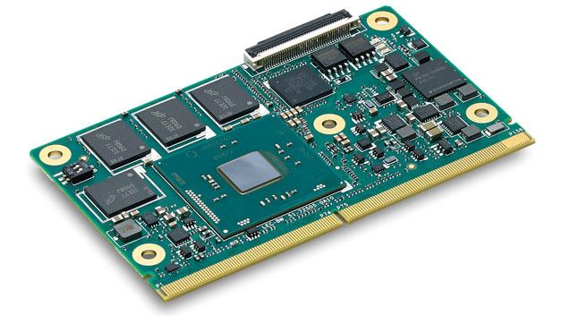 Das SMARC-Modul »LEC-BW«  von Adlink ist mit Intels Pentium/Celeron- N3000-SoC bestückt.
