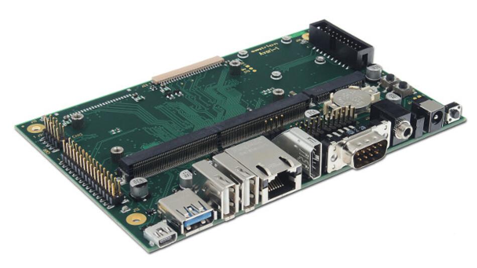 Baseboard für die emCON-Module