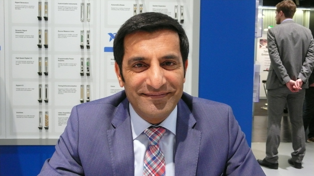 """Rahman Jamal, NI: """"The goal of the testbed is to display the value of new Ethernet IEEE 802 standards, referred to as TSN, in an ecosystem of manufacturing applications."""""""