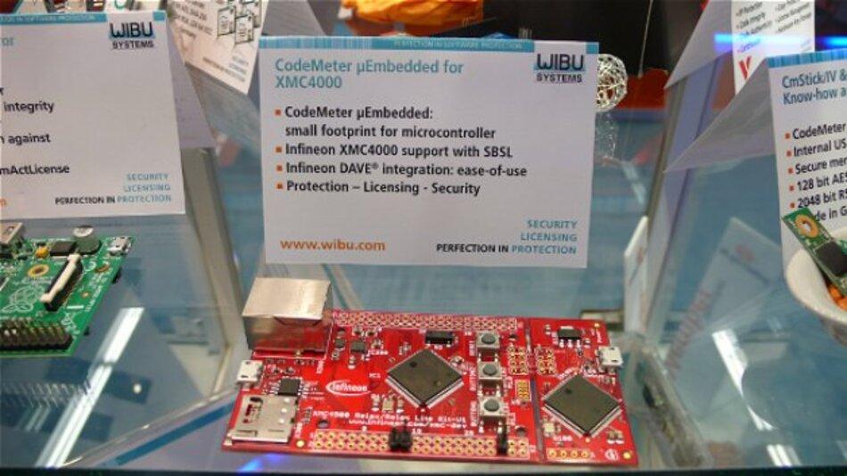 Auf der embedded world präsentiert: »CodeMeter µEmbedded« für die Mikrocontroller der Serie XMC4000 von Infineon