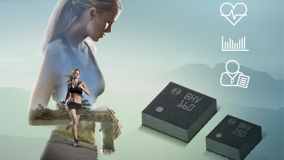 Die neuen Sensor-Hubs von Bosch Sensortec zur Erfassung von Vitalparametern sind für Wearable-Andwendungen vorgesehen.