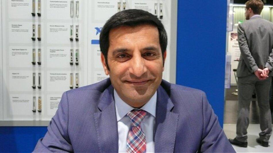 Rahman Jamal (National Instruments) auf der Messe embedded world: »2016 wird ein entscheidendes Jahr sowohl für das IoT als auch für 5G.«