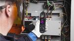 Stromzange mit integriertem Wärmebildsensor