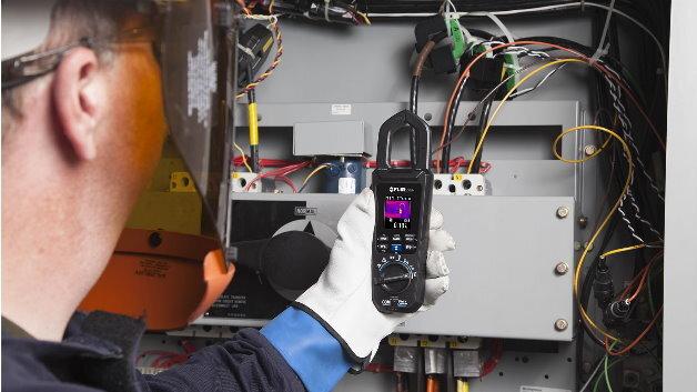 Wärmebild und Strommessung in einem Gerät: Das bietet die neue Flir CM174 AC/DC-Thermografie-Stromzange