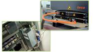 Beide Statoren erzeugen das kräftige Magnetfeld