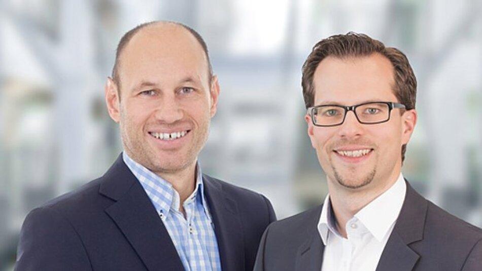 Die neue Geschäftsführung von IDS: Jürgen Hartmann (Gründer und Eigentümer) und Daniel Seiler (vlnr).