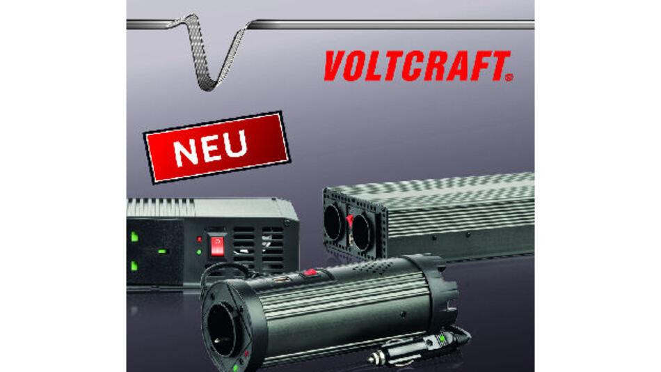VOLTCRAFT-Wechselrichter mit verschiedenen Steckdosen