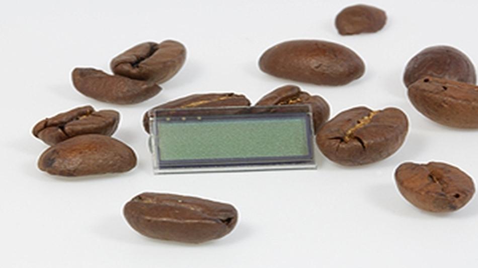 Die Größe einer Kaffeebohne haben ADKOMs 15,8 x 8,4 mm großen Displays in TN- und FSTN-Technlogie.