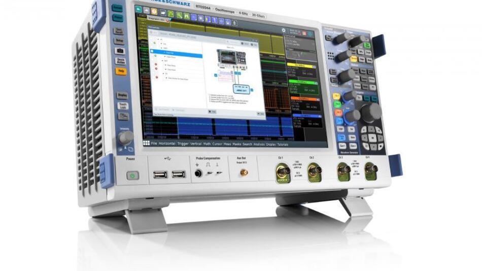 R&S RTO-K92 Compliance Test Software für die RTO Oszilloskopfamilie