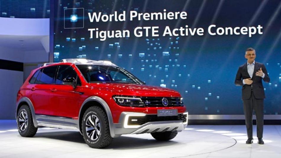 Noch im Januar präsentierte Michael Horn auf der NAIAS in Detroit den Tiguan GTE Active Concept. Jetzt zog er die Konsequenzen aus dem Abgasskandal und trat zurück.