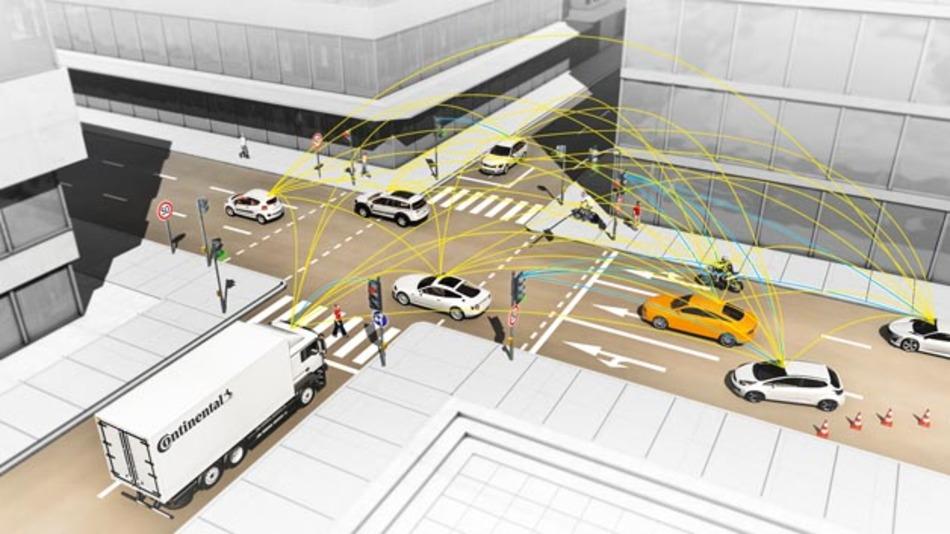 V2X-Kommunikation ist ein wesentlicher Bestandteil zukünftiger »Smart Cities«