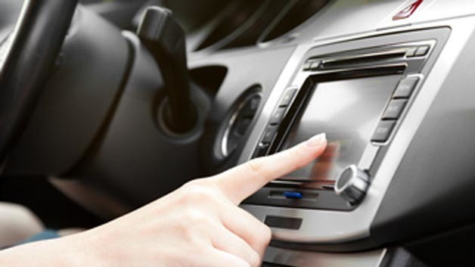Infotainment-System in Fahrzeug