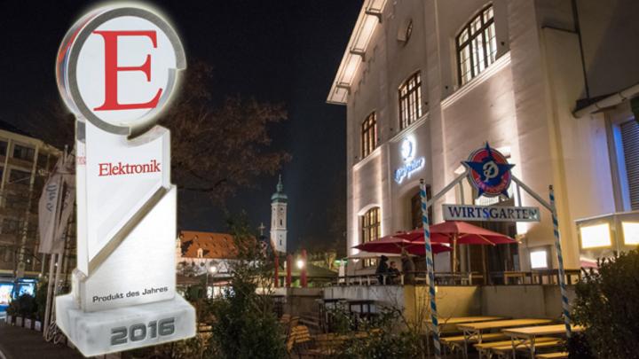 Die Produkte des Jahres 2016 werden im Pschorr am Viktualienmarkt in Münchens Innenstadt verliehen.