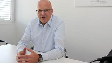 Kontron-CEO Rolf Schwirz