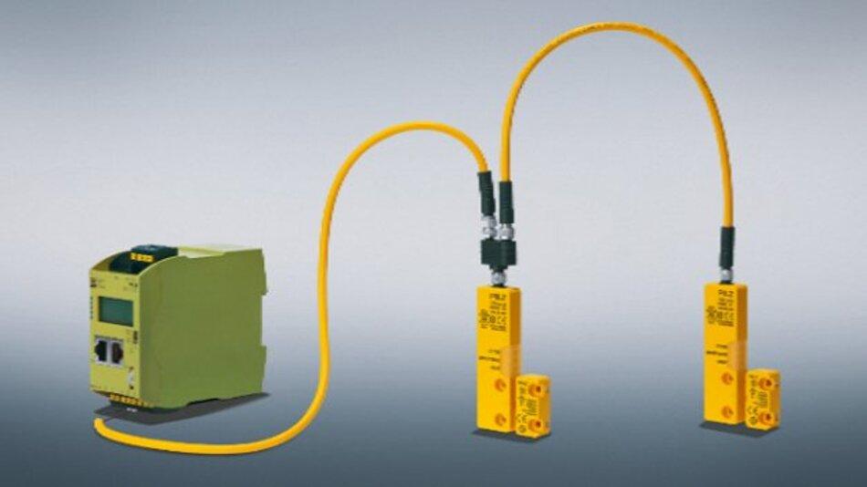 Modular erweiterbar ist die Diagnoselösung »Safety Device Diagnostics« von Pilz.
