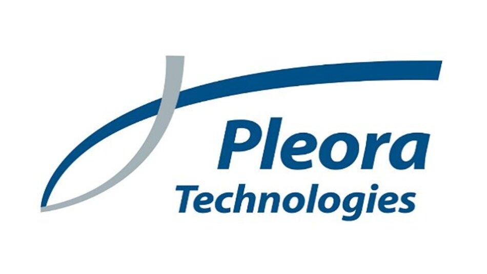 Das Logo von Pleora