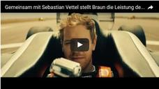 Video Braun Speed Challenge mit Sebastian Vettel
