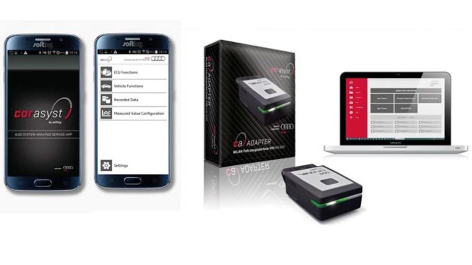 Softing hat mit Car Asyst App eine mobile Lösung für die Fahrzeugdiagnose entwickelt.