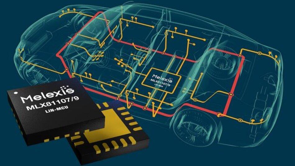 Beim MLX81107 und MLX81109 soll der hohe Integrationsgrad für geringere Kosten und für Platzeinsparungen sorgen.