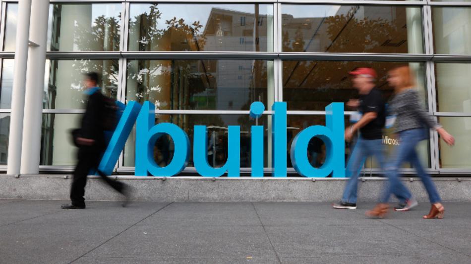 <p>Entwicklerkonferenz Microsoft Build 2016</p>
