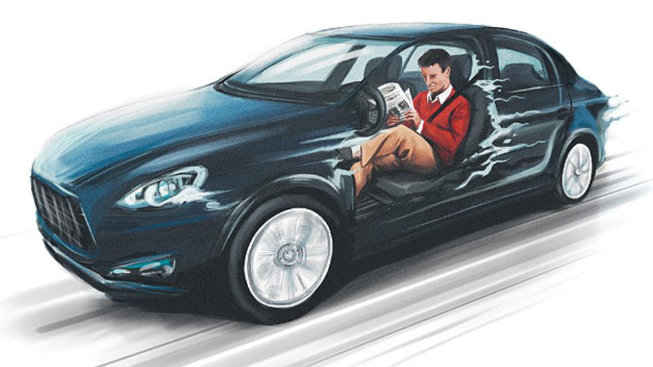 Rechtliche und versicherungstechnische Lösungsansätze beim autonomen Fahren.