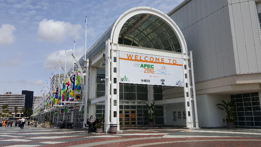 Die APEC 2016 fand vom 20. bis 24. März in Long Beach (Kalifornien) statt. Über 5200 Leistungselektroniker aus aller Welt waren dabei.