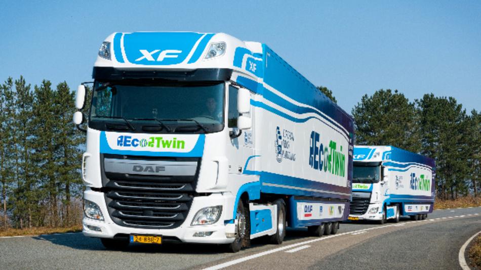 NXPs RoadLINK-Technologie und Radar-Lösungen kommen in den Niederlanden in mehreren Lkw-Kolonnen zum Einsatz.