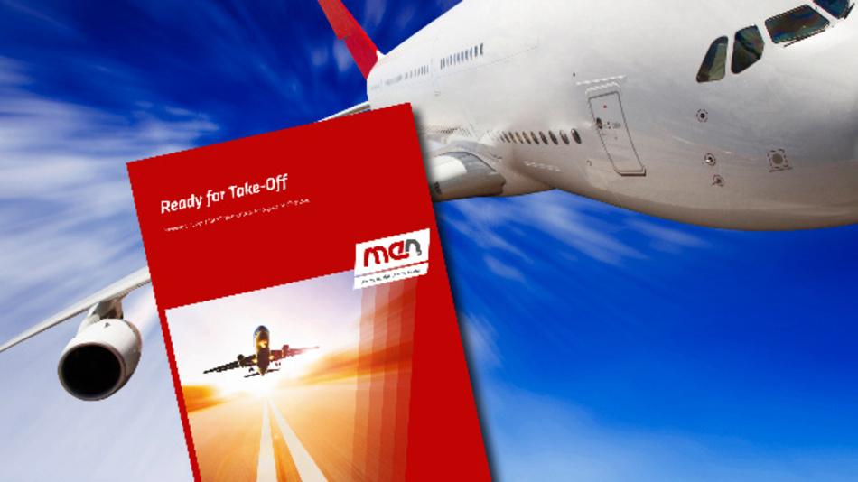Neue Broschüre für die Luftfahrt-Industrie von MEN.