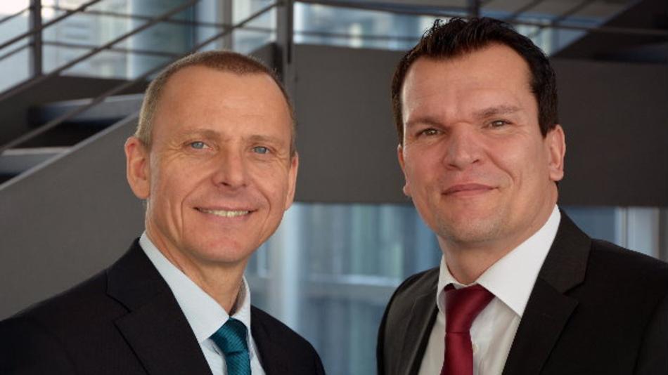 Josef Wörner (links) und Heiko Arnold, beide Vertriebsleiter von Würth Elektronik eiSos