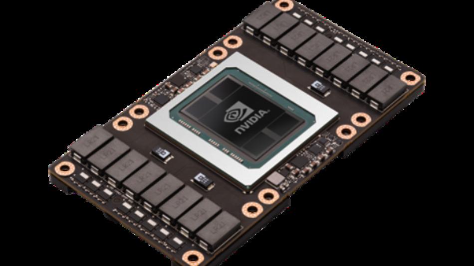Acht der Tesla-P100-GPUs kommen in Nvidias »DGX-1« zum Einsatz.