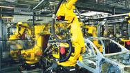 Fertigungshalle, Industrie 4.0