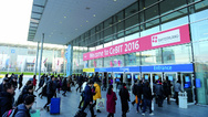 CeBIT - Eingang West