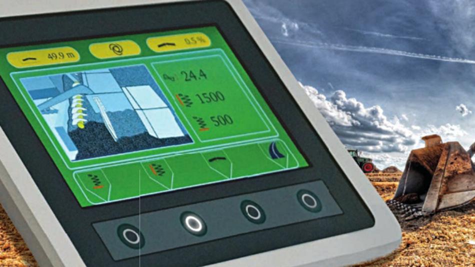 Griessbachs frei skalierbare TFT-Displaysysteme mit Diagonalen von bis zu 10 Zoll erreichen Helligkeitswerte von bis zu 1000 cd/m2.