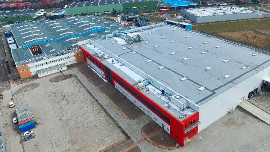 Die neue Fertigungsanlage von Nexteer in Tychy, Polen.