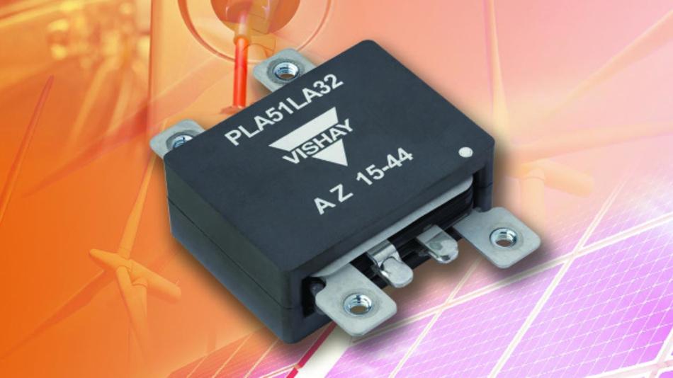 Den neuen Planartransformator PLA51 hat Vishay für Anwendungen wie Gleichspannungswandler, On-Board-Ladegeräte für Elektrofahrzeuge und unterbrechungsfreie Stromversorgungen optimiert.