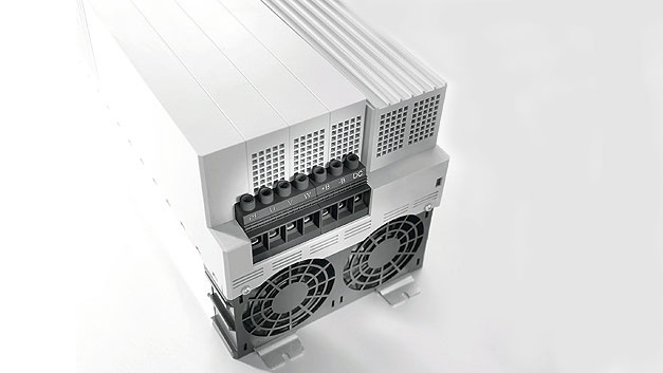 Bild 2. Bei den SK-500E-Frequenzumrichtern aus dem Hause Nord Drivesystems findet die Hochstrom-Leiterplattenklemme LXXX 15.00 Verwendung.