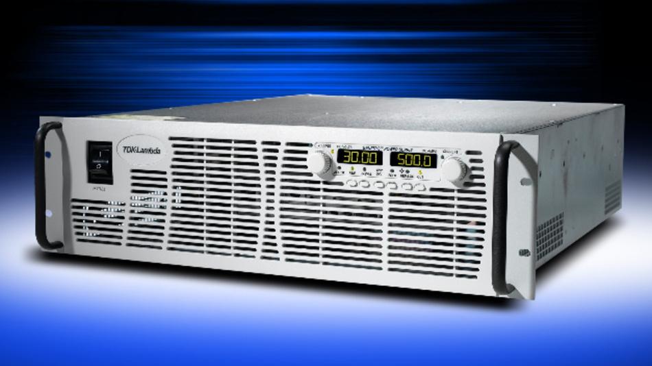 3 HE hoch sind die neuen Labornetzteile der Serie Genesys, die bis zu 1500 V bei bis zu 15 kW zur Verfügung stellen können.