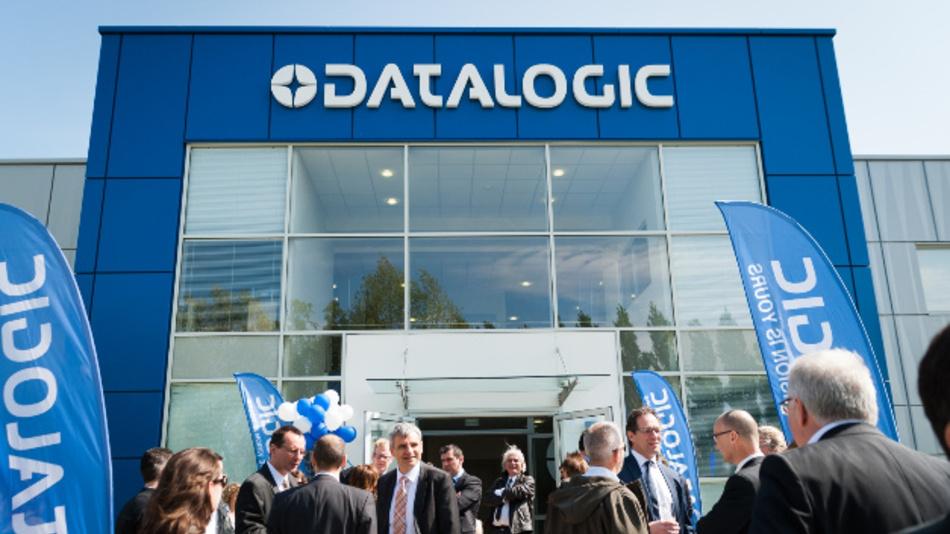 Der Eingangsbereich des neuen Werks von Datalogic in Ungarn