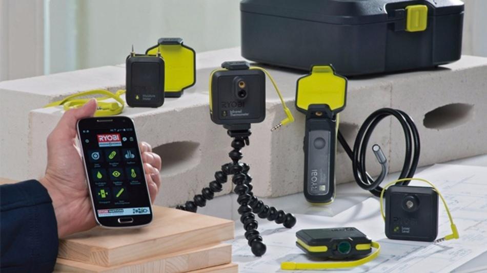 Ryobi conrad business supplies: messen mit dem smartphone