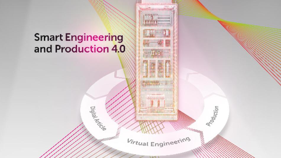 Eplan, Rittal und Phoenix Contact präsentieren gemeinsam auf der Hannover Messe die komplette vertikale Integration von Daten im Engineering- und Produktionsprozess.