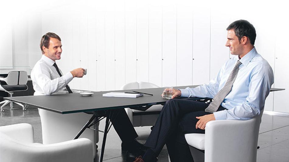 Unternehmenskultur und Mitarbeiterbindung werden durch die Mitarbeitergespräche gefördert.