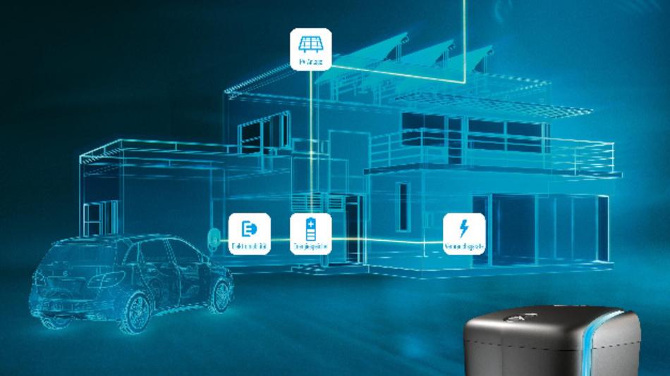 In Haushalten, die über eine eigene Photovoltaikanlage verfügen, lässt sich der überschüssige Solarstrom nahezu verlustfrei zwischenspeichern.