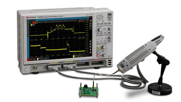 Die Analysatoren Keysight CX3300 ermöglichen die Messung von Strömen von 100 pA bis 10A bei einer Bandbreite von 200 MHz.
