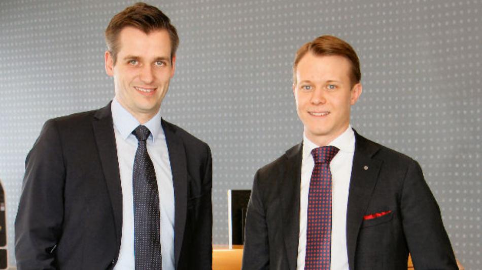 Mit den neuen geschäftsführenden Gesellschaftern Roland Lenzing (l.) und  Mathias Stendtke startet PFLITSCH in die 4. Unternehmer-Generation.