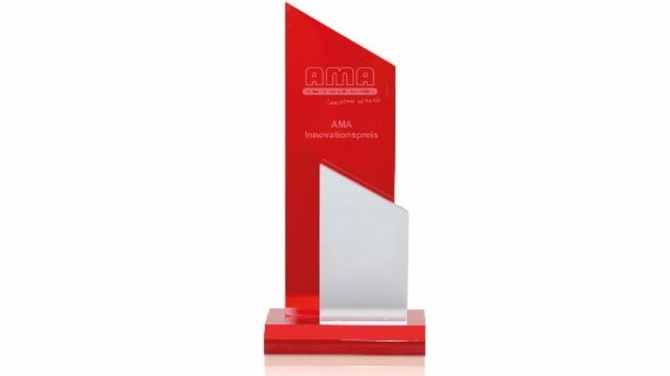 Begehrte Auszeichnung: Der »AMA Innovationspreis« wird alljährlich auf der Eröffnungsveranstaltung zur »Sensor+Test« vergeben.