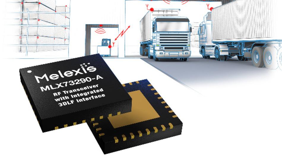 Der MLX73290-A wird im 32-poligen, 5 mm x 5 mm QFN-Gehäuse ausgeliefert.
