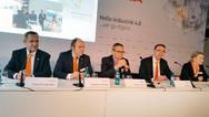 Auf der KUKA Pressekonferenz im Zuge der Hannover Messe 2016 sprachen die Vorstandsmitglieder zu der Fachpresse.