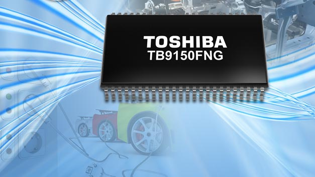 Opto-isolierter IGBT-Gate-Pre-Driver TB9150FNG von Toshiba Electronics Europe